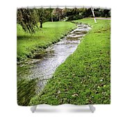 The River Bourne Shower Curtain