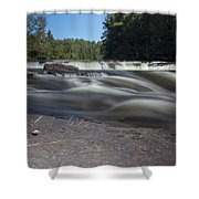The River - Furnace Falls - Burnt River Shower Curtain