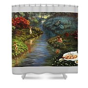 The River Of Life Shower Curtain