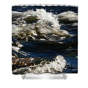 The River Rush Shower Curtain