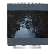 The Rivers Keep Secrets Shower Curtain