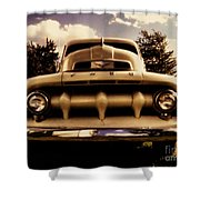 The Rizzo Effect Three  Shower Curtain