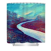 The Road - New Beginnings Shower Curtain