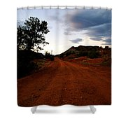 The Road Ahead Shower Curtain