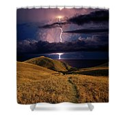 The Road Forward Shower Curtain