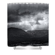 The Road To Elgol Shower Curtain