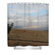 The Road To Galilee Shower Curtain