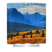 The Road To Glacier Shower Curtain