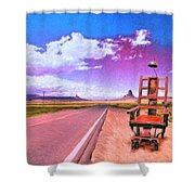 The Road To Perdition Shower Curtain