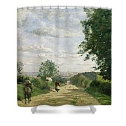 The Road To Sevres Shower Curtain