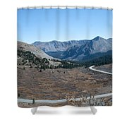 The Road To The Continental Divide Shower Curtain