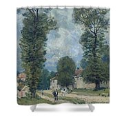 The Road To Versailles Shower Curtain