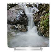 the Rock Falls Shower Curtain