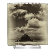 The Rock Of Paradise Shower Curtain