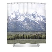 The Rockeis Shower Curtain