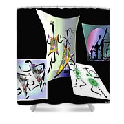 The Rockers Shower Curtain