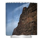 The Rocks Of Los Gigantes 2 Shower Curtain