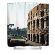 The Roman Colosseum Shower Curtain