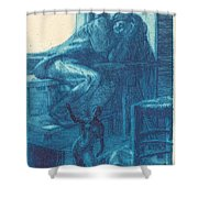 The Roman Studio (l'atelier De Rome) Shower Curtain