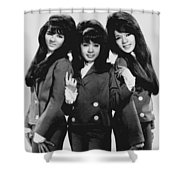 The Ronettes 1966 Shower Curtain