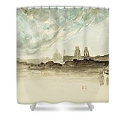 The Roofs Of Paris Shower Curtain
