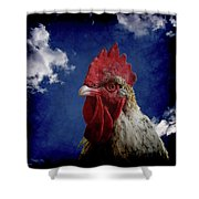 The Rooster Shower Curtain