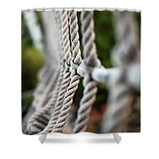The Rope's Shower Curtain