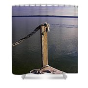 The Ropewalk Shower Curtain