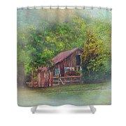 The Rose Barn Shower Curtain