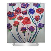 The Rose Series Shower Curtain