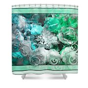 The Roses Of Josephine  Shower Curtain