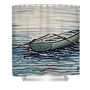 The Row Boat Shower Curtain