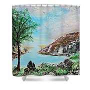 The Rowan Tree Shower Curtain