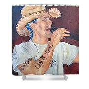 The Rowdy One Shower Curtain