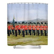 The Royal Fusiliers Shower Curtain