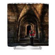The Royal Horse Guard   Shower Curtain