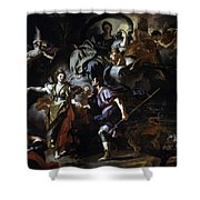 The Royal Hunt Of Dido And Aeneas Shower Curtain