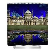 The Royal Pavilion At Sunrise Shower Curtain