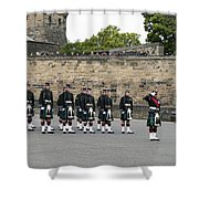 The Royal Regiment Of Scotland Shower Curtain