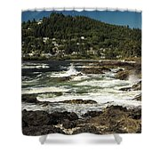 The Rugged Beauty Of The Oregon Coast - 1 Shower Curtain