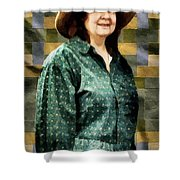 The Rugmaker Shower Curtain