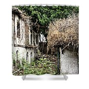The Ruined Cottage Shower Curtain