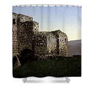 The Ruins Jezreel Holy Land Shower Curtain