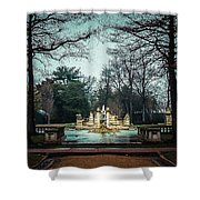 The Ruins Shower Curtain