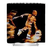 The Run Shower Curtain