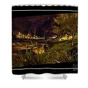 The Rushing Rio Tomebamba Iv Shower Curtain