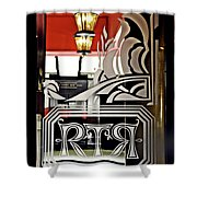 The Russian Tea Room Door Shower Curtain
