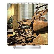 The Rust Belt Shower Curtain