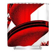 The S. S. Tornado Shower Curtain by Ed Smith