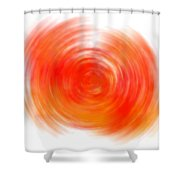 The Sacral Chakra - Orange Shower Curtain
